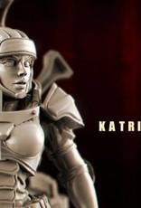 Raging Heroes KURGANOVAS - KATRINA ZERGA, TANK STOPPER