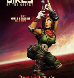 Raging Heroes KURGANOVAS - NURSE KAROLINE, FIELD MEDIC