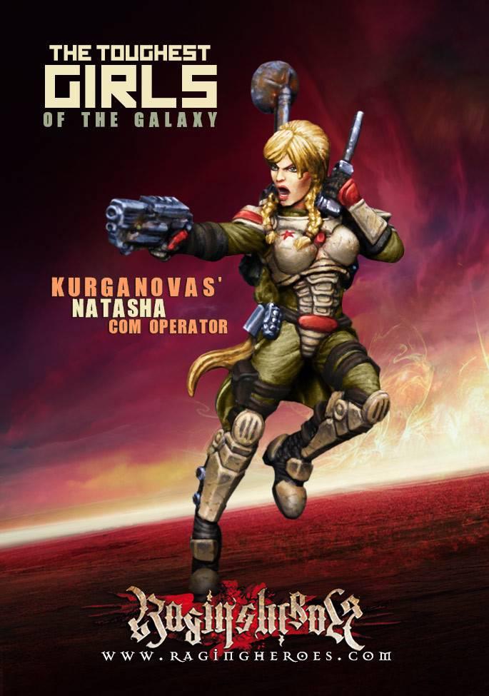 Raging Heroes KURGANOVAS - CHARACTER BOX KST 1