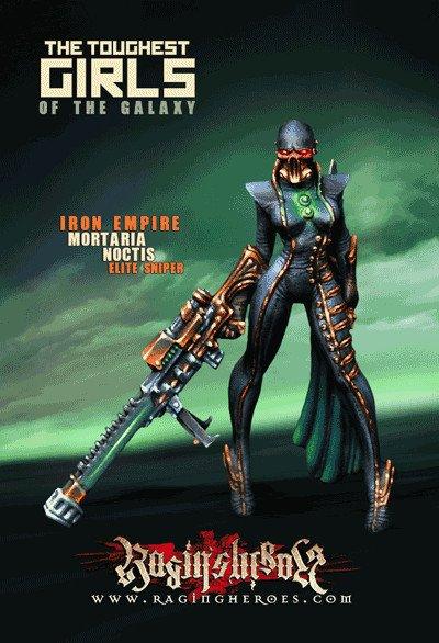 Raging Heroes IRON EMPIRE - CHARACTER BOX 1