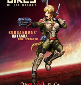 Raging Heroes KURGANOVAS - NATASHA, COM OPERATOR