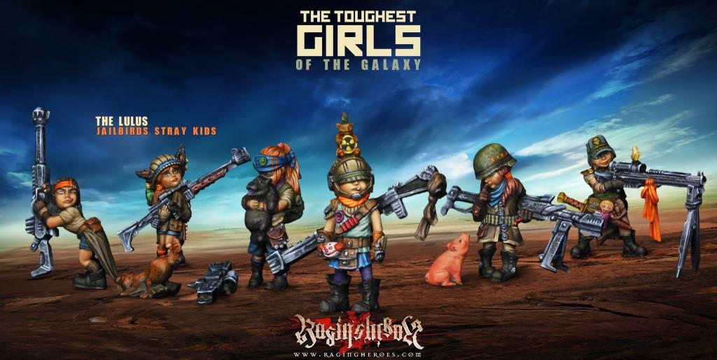 Raging Heroes JAILBIRDS - THE LULUS, 6 STRAY KIDS
