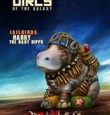 Raging Heroes JAILBIRDS - HARRY THE BABY HIPPO, JB MASCOT
