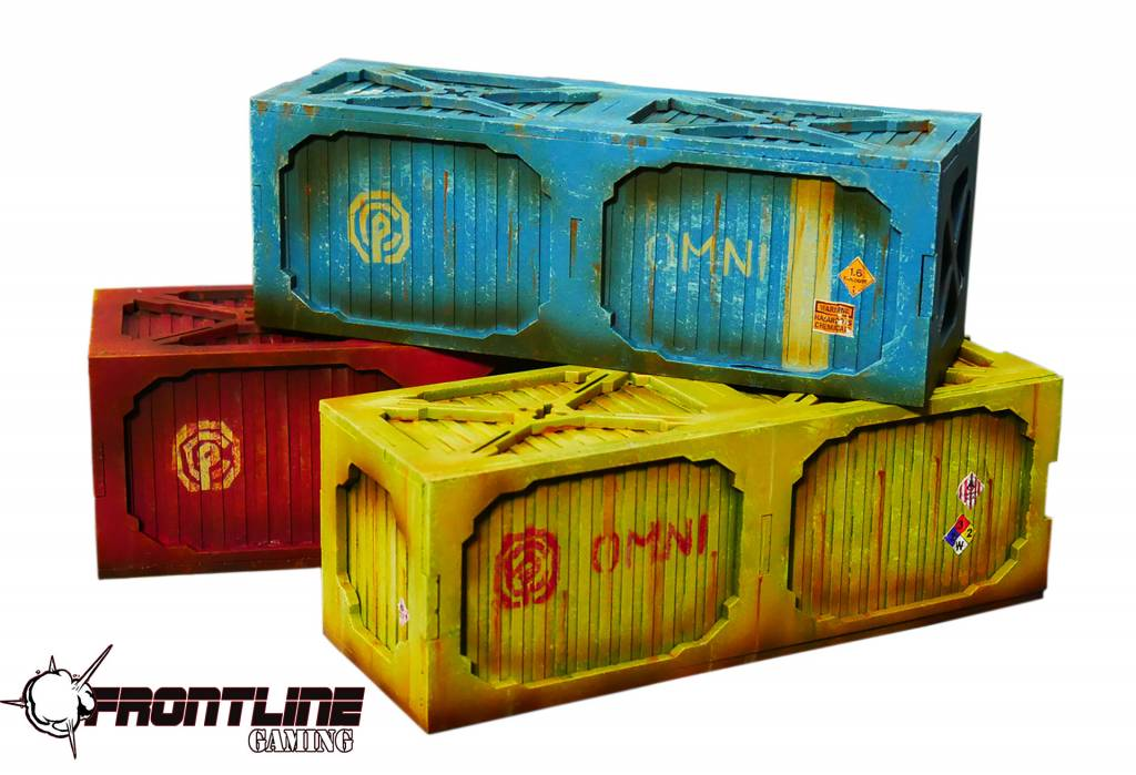 Frontline Gaming ITC Terrain Series: Cargo Container B