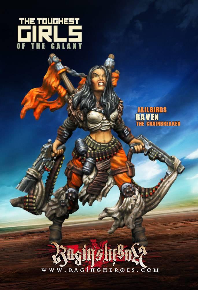 Raging Heroes JAILBIRDS - RAVEN, THE CHAINBREAKER
