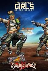 Raging Heroes JAILBIRDS - LIEUTENANT PARKER