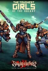 Raging Heroes IRON EMPIRE - IRON STORM COMMAND