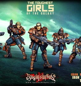Raging Heroes IRON EMPIRE - IRON STORM TROOPS