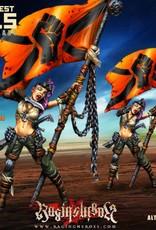 Raging Heroes JAILBIRDS - PUNKY, ARMY STANDARD