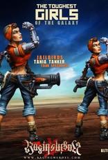 Raging Heroes JAILBIRDS - TANIA TANKER