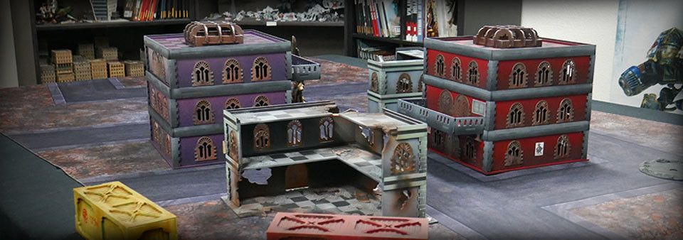Frontline Gaming ITC Terrain Series: Urban Square