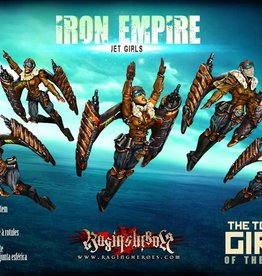 Raging Heroes IRON EMPIRE - JET GIRLS