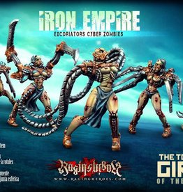 Raging Heroes IRON EMPIRE - EXCORIATORS / CYBER ZOMBIES