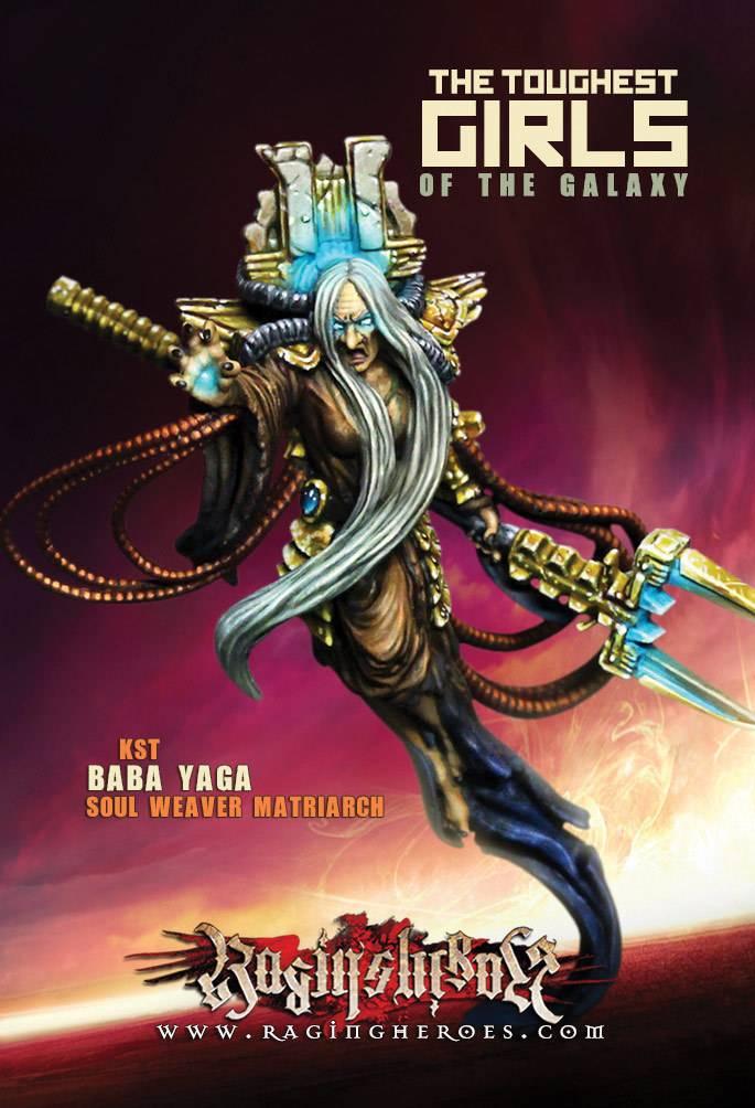 Raging Heroes KURGANOVAS - BABA YAGA, SOUL WEAVER MATRIARCH