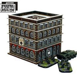 4Ground Miniatures 10mm Standard Terrain: District XXII Hab-Block 5