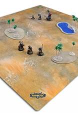 Privateer Press Mat: Bloodstone Desert 4x4'