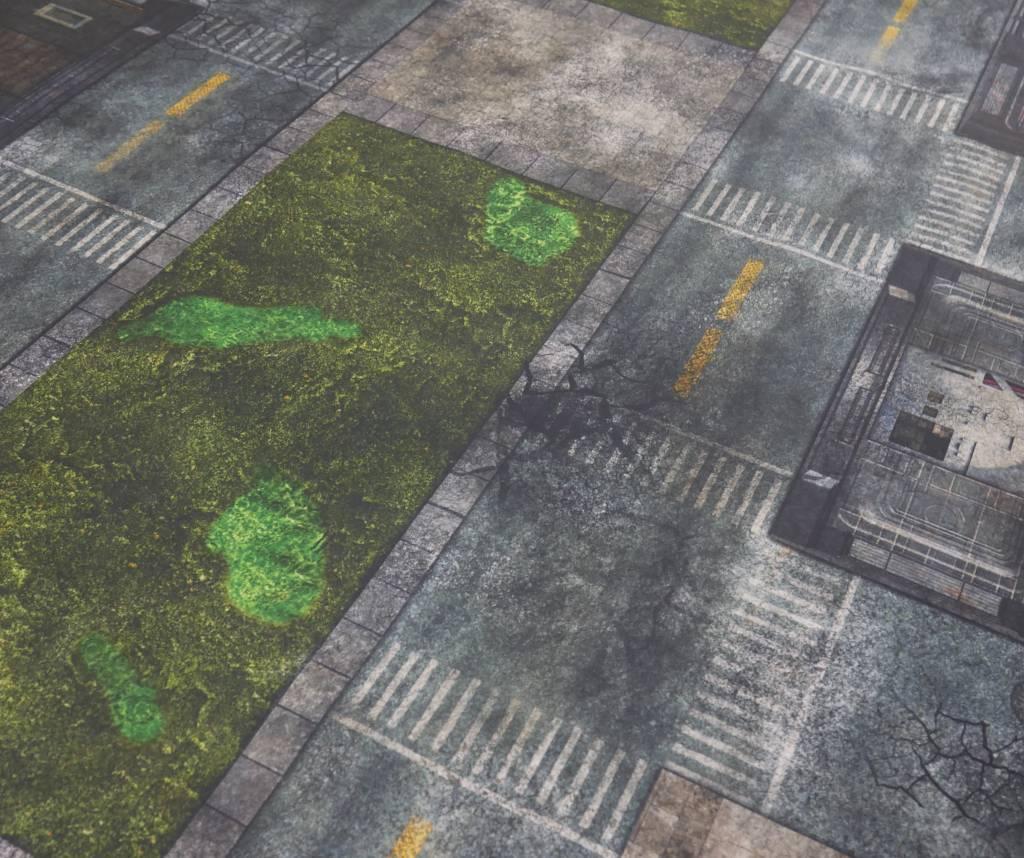 Frontline Gaming FLG Mats: City 1 6x4'