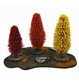 Frontline Gaming ITC Terrain Series: Autumn Tree Set