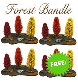 Frontline Gaming Buy 3 Autumn Trees Get 1 Free!