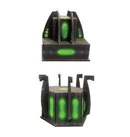 Frontline Gaming ITC Terrain Series: Robot City Power Generators