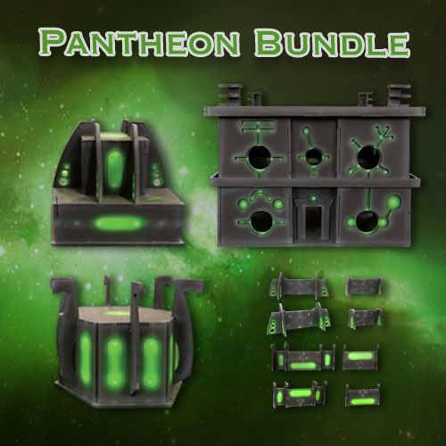 Frontline Gaming ITC Terrain Series: Robot City Pantheon Bundle