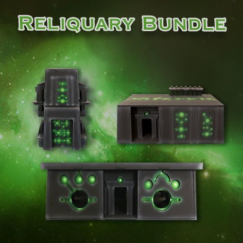 Frontline Gaming ITC Terrain Series: Robot City Reliquary Bundle