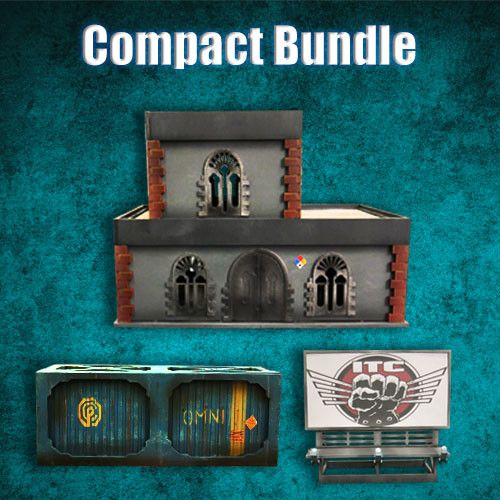 Frontline Gaming ITC Terrain Series: Urban Compact Bundle