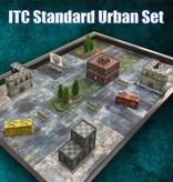 Frontline Gaming ITC Terrain Series: ITC Standard Urban Set