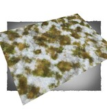 Frontline Gaming FLG Mats: Snow Covered Tundra 1 6x4'