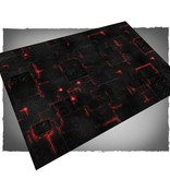 Frontline Gaming FLG Mats: Robot City 1: Red 6x4