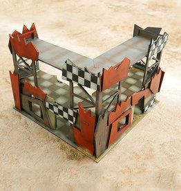 Frontline Gaming ITC Terrain: Orc L Shaped Building