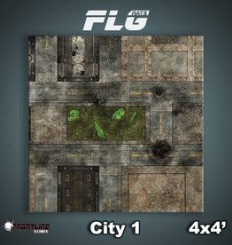 Frontline Gaming FLG Mats: City 1 4x4'