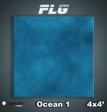 Frontline Gaming FLG Mats: Ocean 1 4x4'