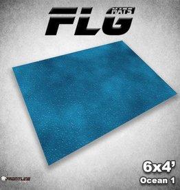 Frontline Gaming FLG Mats: Ocean 1 6x4