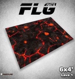 Frontline Gaming FLG Mats: Lava 1 6x4