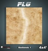 Frontline Gaming FLG Mats: Badlands 1 4x4'