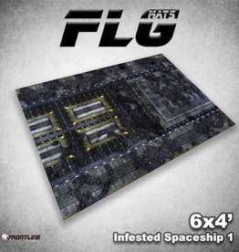 Frontline Gaming FLG Mats: Infested Spaceship 1 6x4