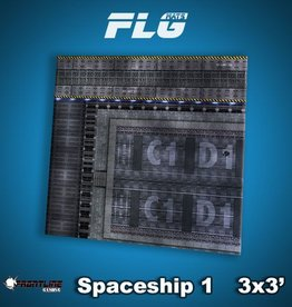 Frontline Gaming FLG Mats: Spaceship 1 3x3'