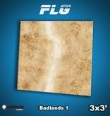 Frontline Gaming FLG Mats: Badlands 1 3x3'
