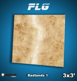 Frontline Gaming FLG Mats: Badlands 1 3x3'