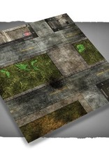 Frontline Gaming FLG Mats: City 1 3x3'
