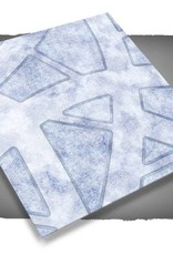 Frontline Gaming FLG Mats: Snow Covered Cobblestone City 1 4x4'