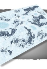 Frontline Gaming FLG Mats: Snow 1 6x4'
