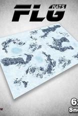Frontline Gaming FLG Mats: Snow 1 6x4'