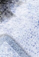 Frontline Gaming FLG Mats: War-torn Snow Covered Cobblestone City 1 3x3'