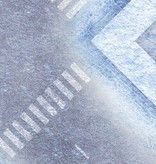 Frontline Gaming FLG Mats: War-torn Snow Covered City 1 4x4'