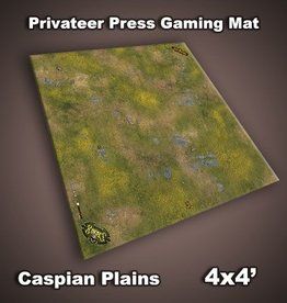 Privateer Press Mat: Caspian Plains 4x4'