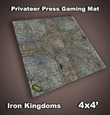 Privateer Press Mat: Iron Kingdoms City Streets 4x4'