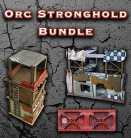 Frontline Gaming ITC Terrain Series: Orc Stronghold Bundle