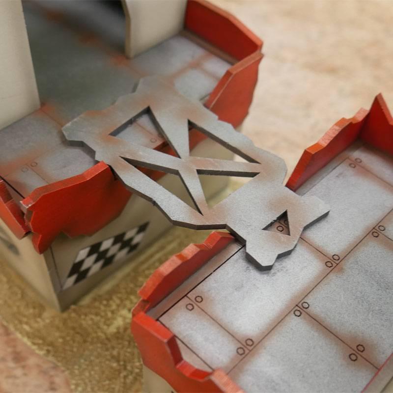 Frontline Gaming ITC Terrain Series: Orc Barracks